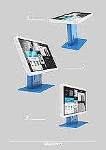 """Интерактивный стенд """"Tehno-Sky"""" стол Angle (поворотный экран)"""