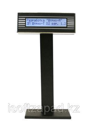 Дисплей покупателя ШТРИХ-T D2-USB-MB(чёрный)(USB)