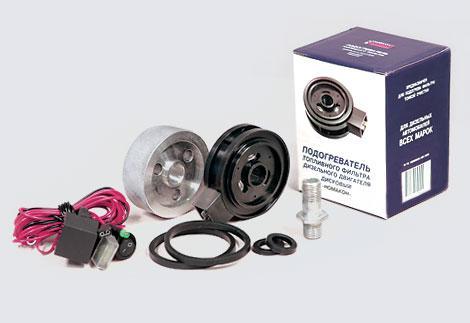 Подогрев топливного фильтра дисковый Номакон ПД 202 (24в)