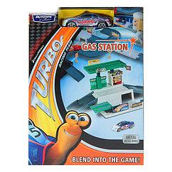 "Набор игровой  ""MEGAPOLIS"" Turbo заправка с машинками . (DreamWorks)"