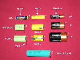 Аккумуляторы и батарейки.