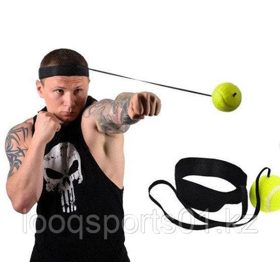 Мяч на резинке для бокса