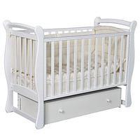 Детская кроватка Антел Julia-2 Белая унив. маятник