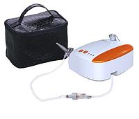 Набор для аэрографии с аэрографом, миникомпрессором и фильтром в кейсе
