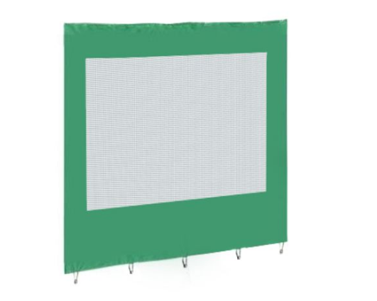 Стенка с сеткой (2500х2000 мм) для шатра 2.5х2.5 и 2.5х5.0