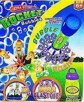 Мыльные пузыри Ракета Rockes Bubbles