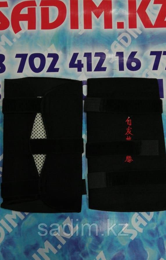 Турмалиновые наколенники липучки ( черные дешевые )