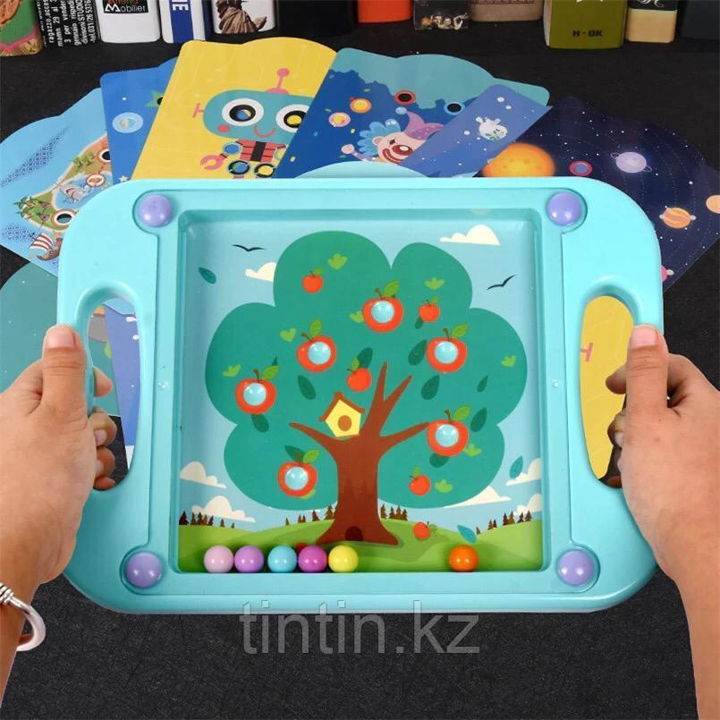 Детская шариковая мозаика-баланс