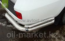Защита заднего бампера, уголки двойные для Toyota Land Cruiser 200 ( 2012-2015), фото 3