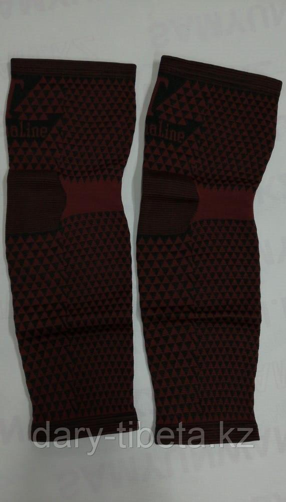 Наколенники эластичные ( красные длинные )