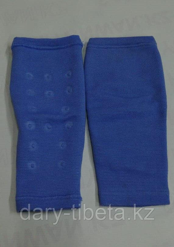 Турмалиновые Наколенники эластичные варикозные ( синие )