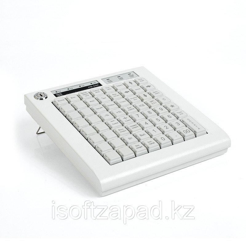Программируемая клавиатура KB-64K ШТРИХ-М, 64 клавиши, бежевая