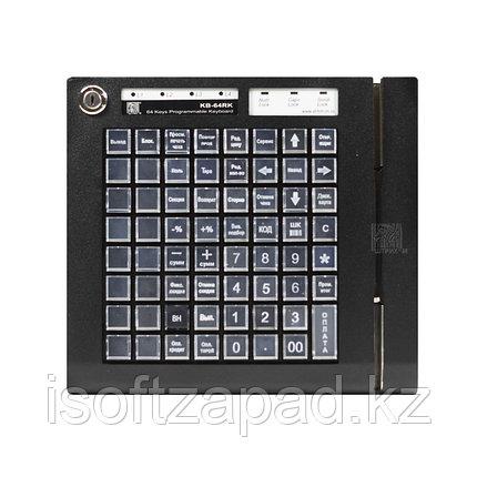 Программируемая клавиатура KB-64K ШТРИХ-М, 64 клавиши, чёрная, фото 2