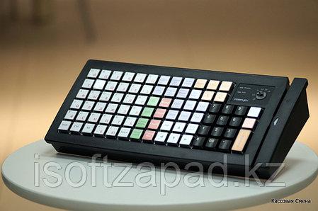 Клавиатура программируемая posiflex kb-6600-b, фото 2