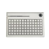 Программируемая POS-клавиатура NCR 5932-7XXX, PS/2 на 78 клавиш с ридером (3 дорожки), бежевая, черная