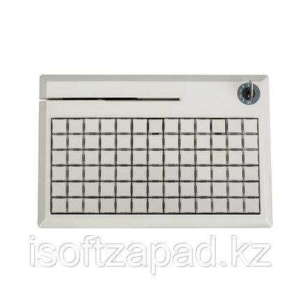 Программируемая POS-клавиатура NCR 5932-7XXX, PS/2 на 78 клавиш с ридером (3 дорожки), бежевая, черная, фото 2