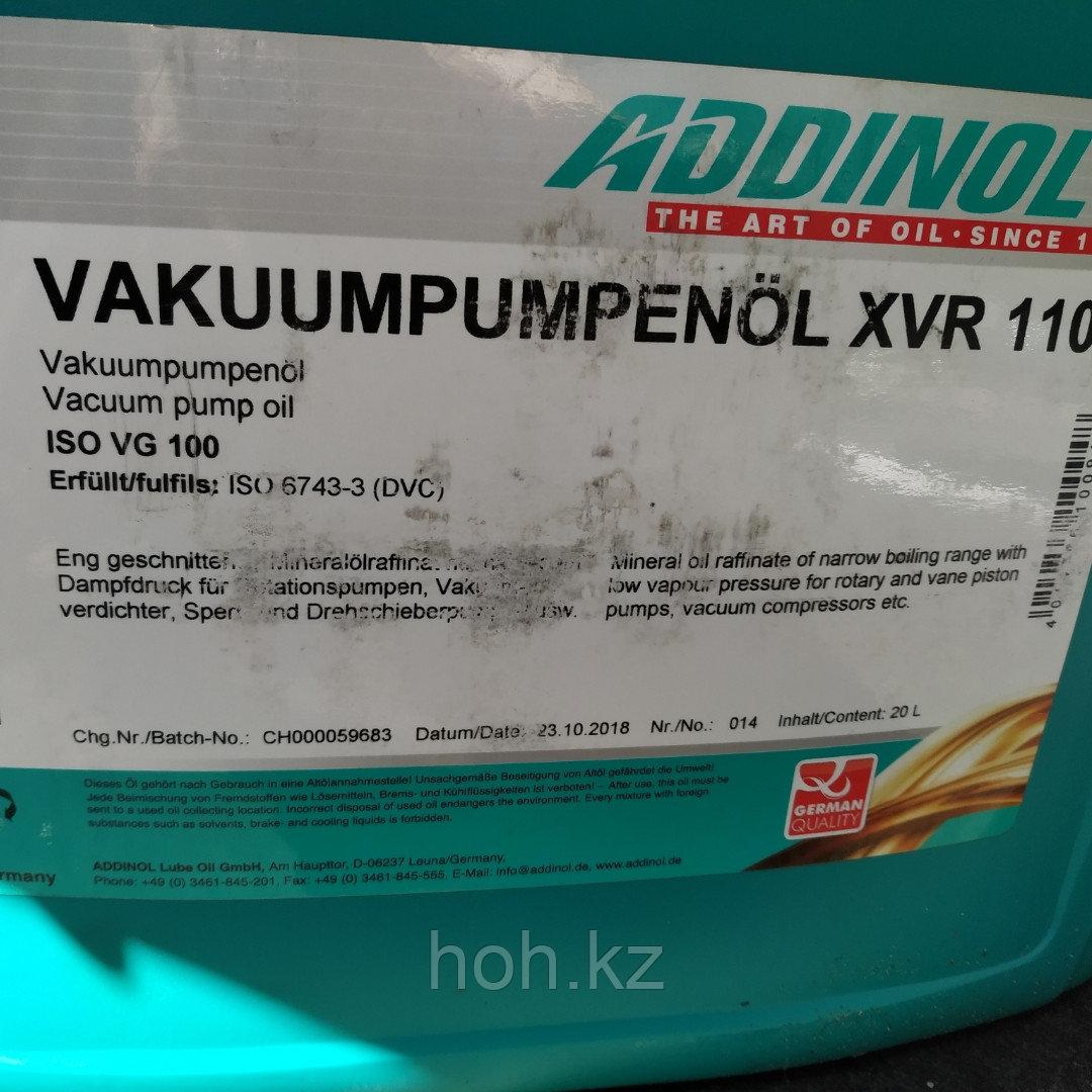 Вакуумное масло ADDINOL VAKUUMPUMPENOL XVR 110