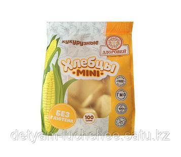 Безглютеновые мини кукурузные хлебцы ,100 грамм