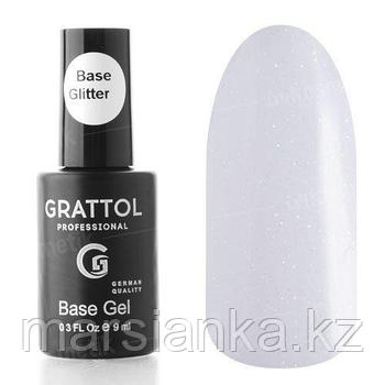 Base Camouflage GLITTER #1 (база с шиммером) Grattol, 9мл