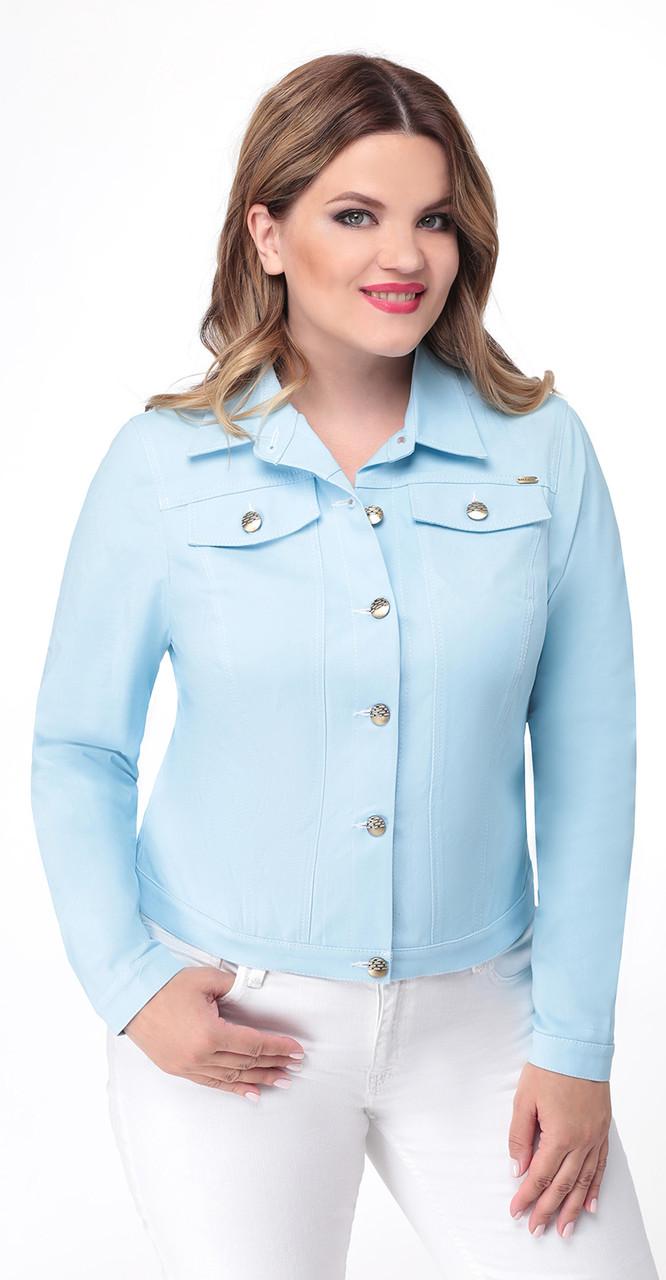 Блузка Дали-5254, голубой, 44