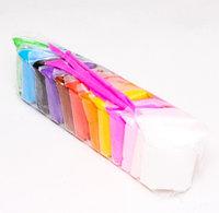 Пластилин легкий (сухой) воздушный 12 цветов