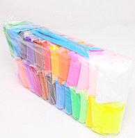 Пластилин легкий (сухой) воздушный 24 цвета
