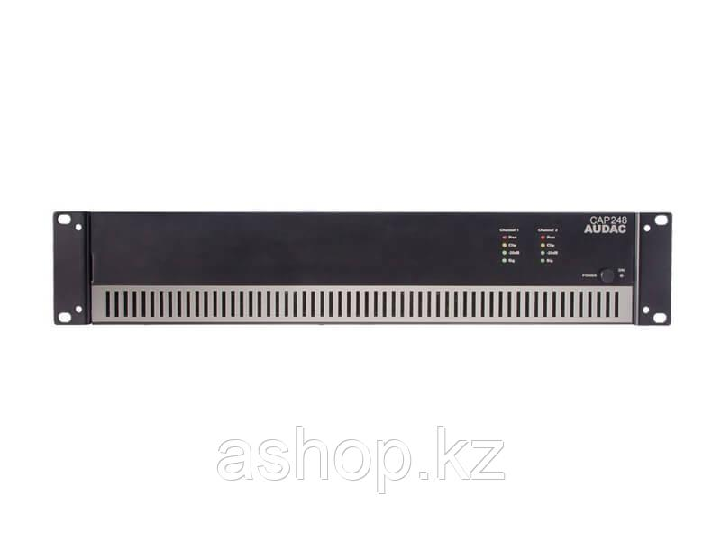 Усилитель 4-х канальный  AUDAC CAP448, Цвет: Чёрный