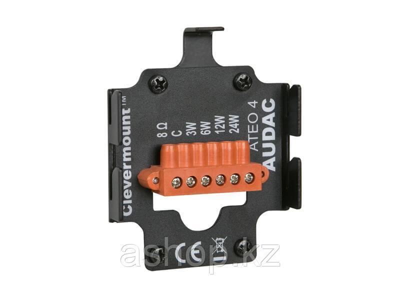 Акустика потолочная двухполосная пассивная AUDAC ATEO4/B, 100 вольтовое подключение: 24 Вт/417 Ом, 12 Вт/833 О