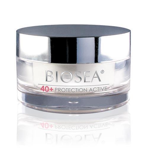 Ночной крем для лица Biosea Protection с комплексом Marin Anti-âge 40+, 50 мл (Оригинал - Франция)