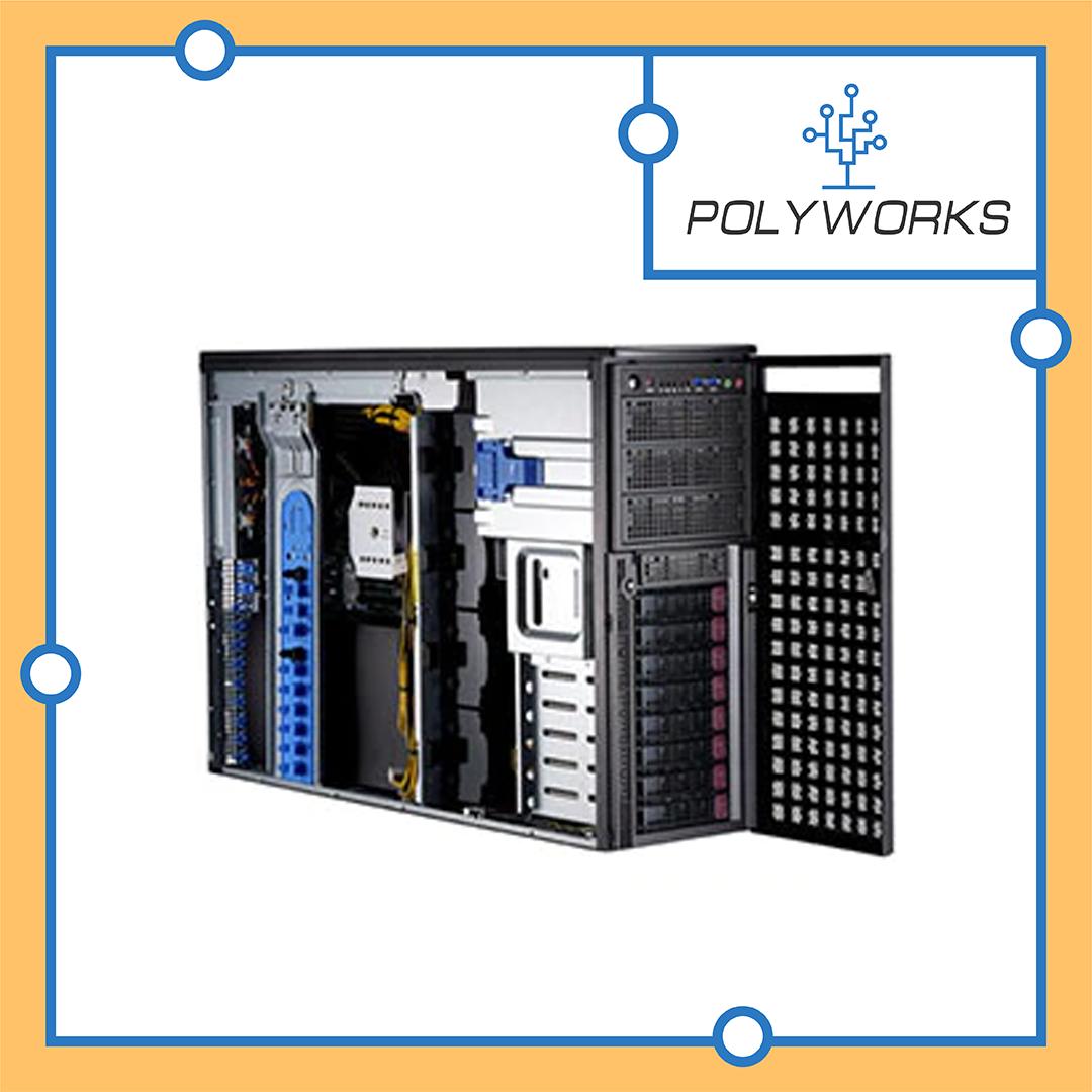 Сервер Supermicro CSE-747BTS-R2K20BP/X11DPG-QT
