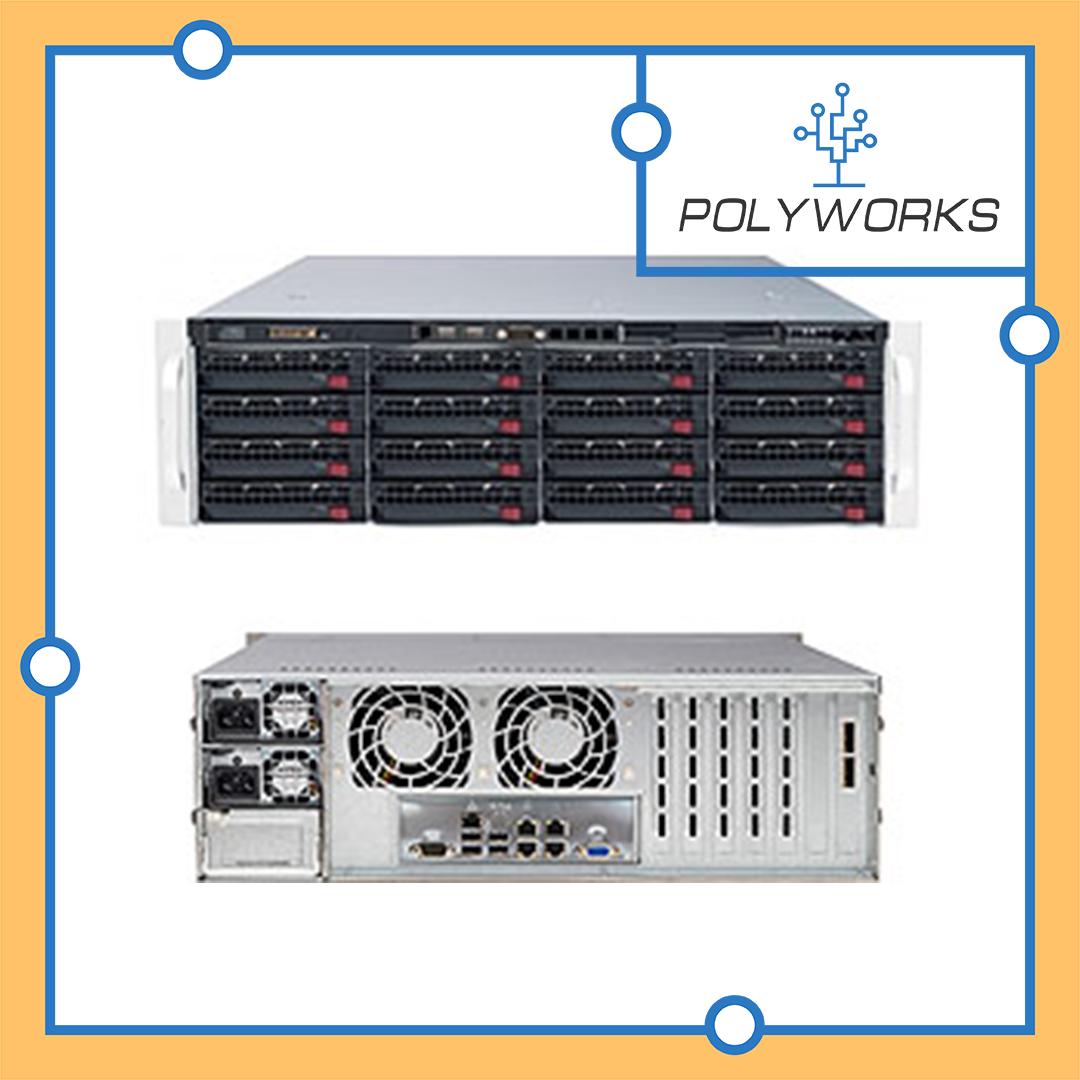 Сервер Supermicro CSE-846BE1C-R920/X11SCL-F/Intel Xeon E-2224/8 GB DDR4/9341-8i/2x920W