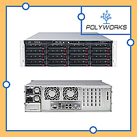 Сервер Supermicro CSE-846BE16-R920/X11SSl-F/Intel Xeon E3 1220v6/8 GB DDR4/LSI 9260-8i RAID controller/2*920 W PSU