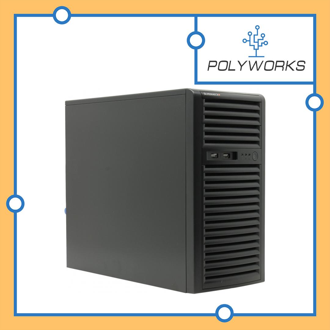 Сервер Supermicro CSE-733T-500\X10DRL-i\Xeon E5-2620v4\32G\2x256SSD ENT\2x1TB ENT\500W