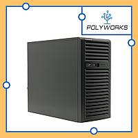 Сервер Supermicro CSE-732i-500/X11SCL-F/E-2224/32GB DDR4/2x1TB SATA/500W PS
