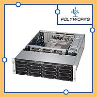 Сервер Supermicro CSE-836BE1С-R920/ X11SCL-F/ E-2224/ 16GB/ RAID MR9341-8i/ 2xGLAN/, фото 1