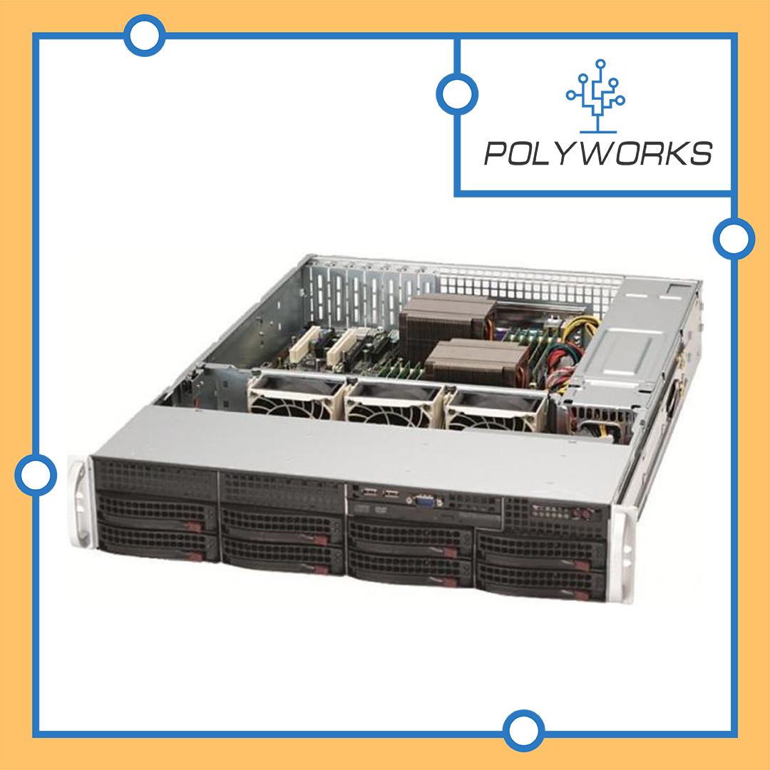 Сервер Supermicro CSE 825TQC- R740LPB/X11DPL-i