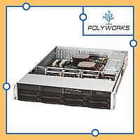 Сервер Supermicro CSE 825TQC- R740LPB/X11DPL-i, фото 1