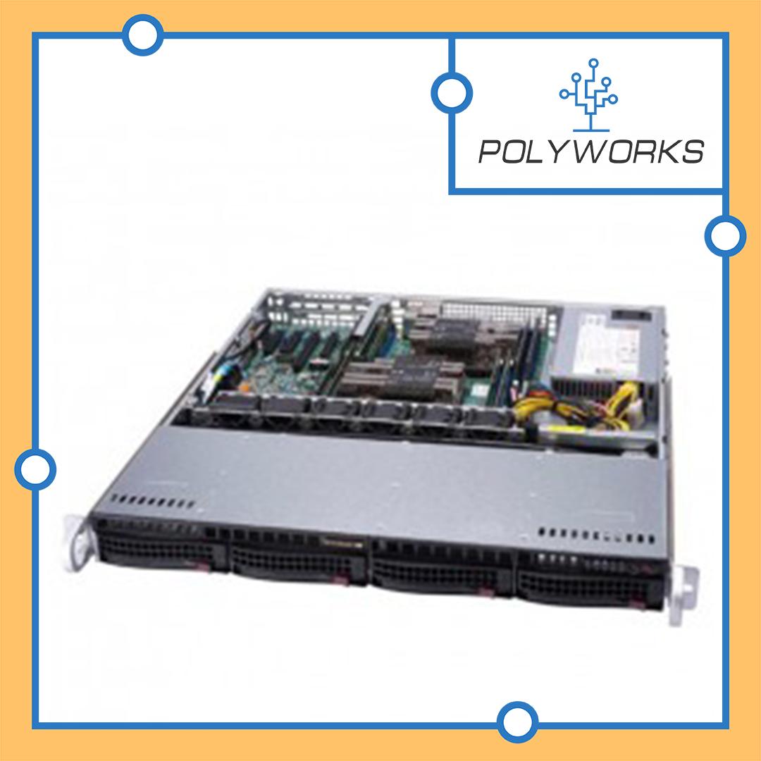 Сервер Supermicro CSE-813MFTQC-505/X11SCL-F/Xeon E-2236/16GB/2*1TB SATA/500W