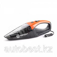 Пылесос автомобильный «Агрессор», 12V, cyclonic action, 2-ой фильтр, V пылесборника 470 мл, 4 м шнур