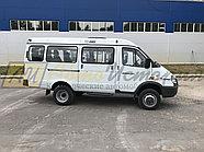 Газ 32217,  автобус (8 мест). 4х4., фото 2