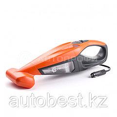 Пылесос автомобильный «Агрессор»,12V, 2-х скоростной, cyclonic action, LED фонарь, 2-ной фильтр,V пы