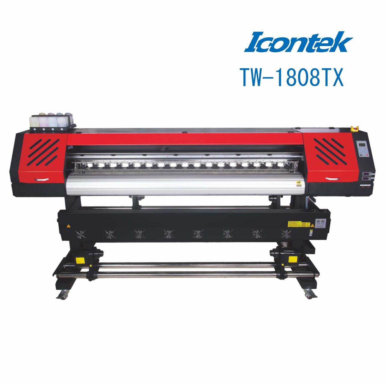 Принтер широкоформатный 1,8м TW-1808TX ICONTEK