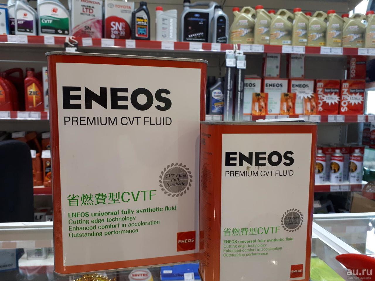 Масла для вариатора и АКПП трансмиссионная жидкость Еneos Premium CVT Fluid 1L