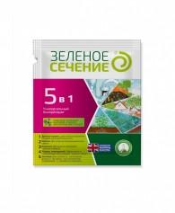 Биологическое средство для приготовления компоста Зеленое сечение 5 в 1