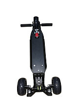 Самокат 3-х колесный складной Scooter-X (Черный), фото 3