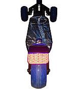 Самокат 3-х колесный складной Scooter-X (Синий), фото 2