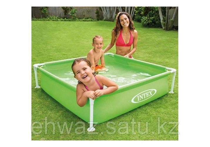 Каркасный  бассейн Intex 122*122*30 см
