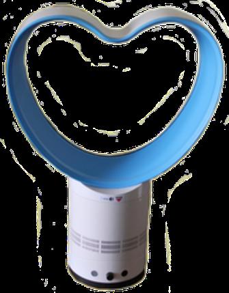 Вентилятор-Невидимка без лопастей с пультом ДУ, фото 2