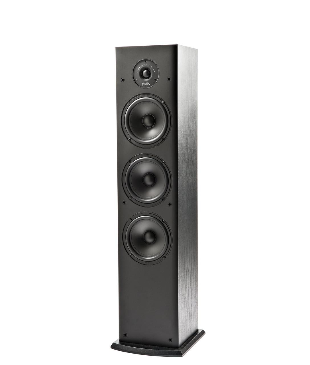 Акустика напольная фронтальная монополярная, двухполосная, пассивная, фазоинверторная Polk Audio T50, 90, 38 Г