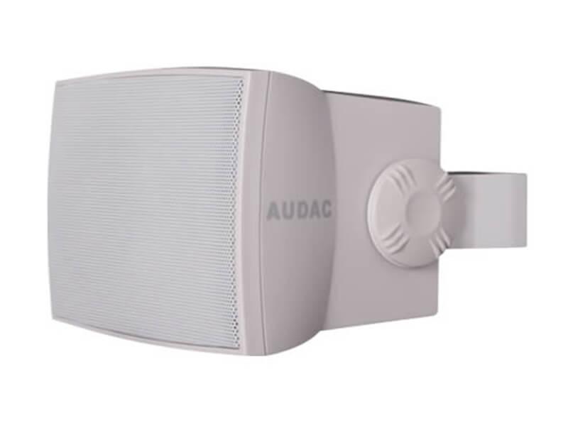 ATEO4/W AUDAC акустика потолочная двухполосная пассивная, 8Ω подключение, IP40, Цвет: Белый